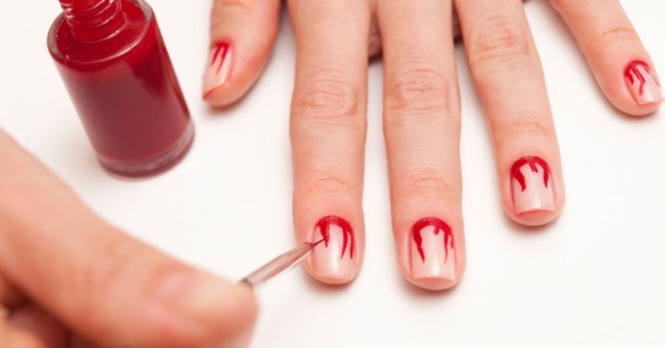 nail and art Unhas de gel e unhas de acrílico