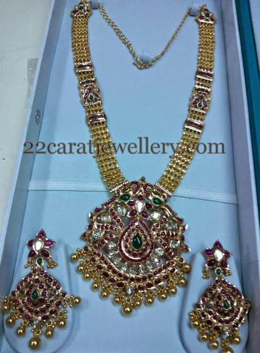 Antique Long Sets with Pota Rubies