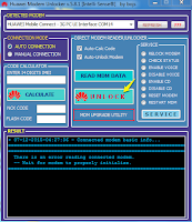 unlock huawei modem