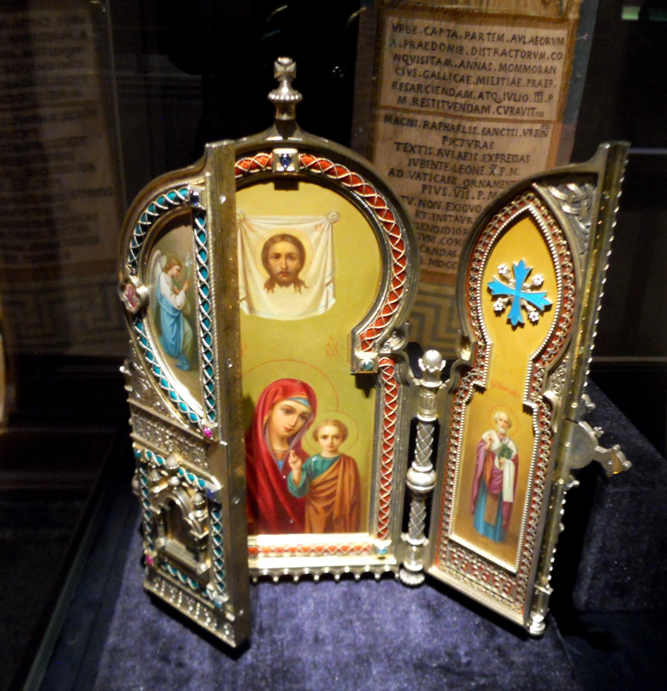 New Liturgical Movement: Icons by Fabergé at the Vatican ...