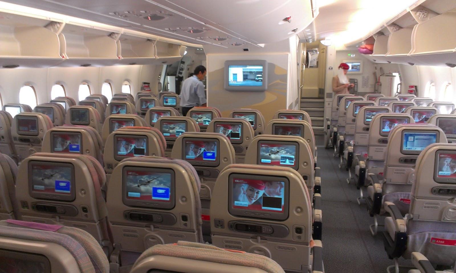 Sitzrekord im Emirates A380 Jetzt wird es voll in der Economy