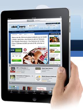 premio Apple iPad con Wi-Fi de 16GB promocion clickOnero Mexico 2011