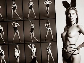 Kate Moss, desnuda aniversario de Playboy