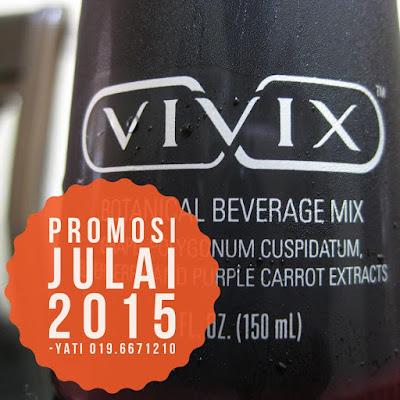 Promosi Shaklee Vivix