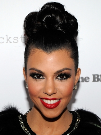 Famous Celebrity Updo Bun Hairstyle 10