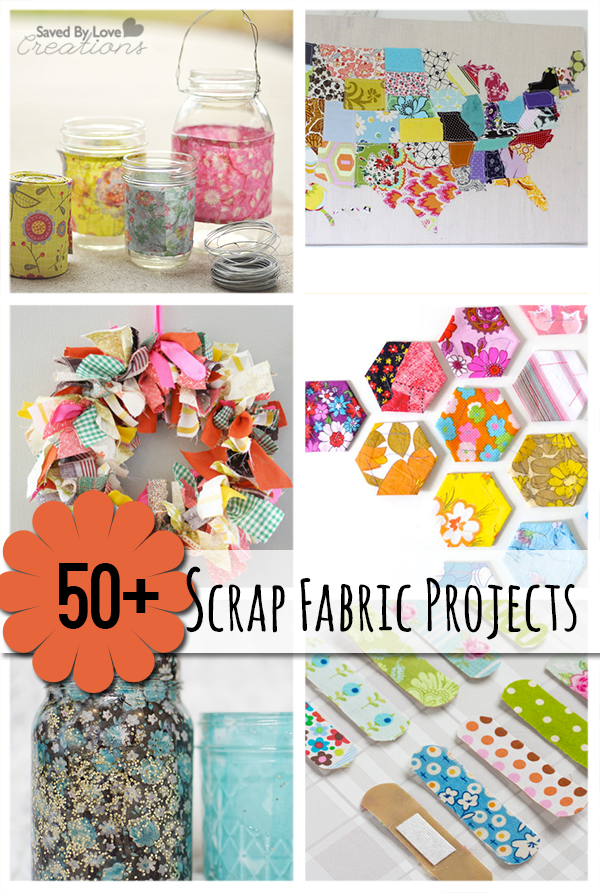 50 Best Scrap Fabric Project Tutorials