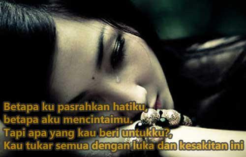 Kata Kata Sedih Putus Cinta Sangat Menyentuh Hati Contoh Dan Kata