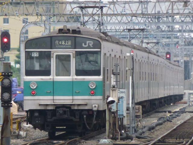 東京メトロ千代田線 代々木上原行き5 JR東日本203系