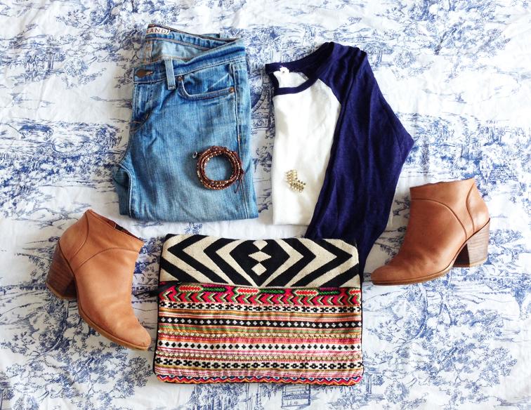 #AllNaturalStyleSecrets J Brand Jeans Rachel Comey Boots J.Crew Raglan