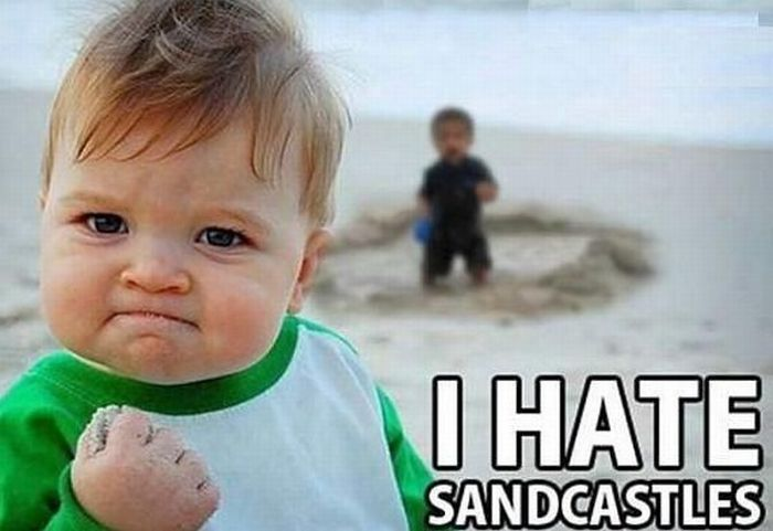 Success Kid Meme Funny : Funny pic of the day i hate sandcastles jenny s noodle