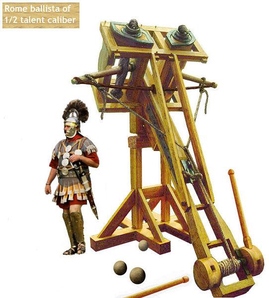 Machines for War: Ballista - an ancient missile weapon ...
