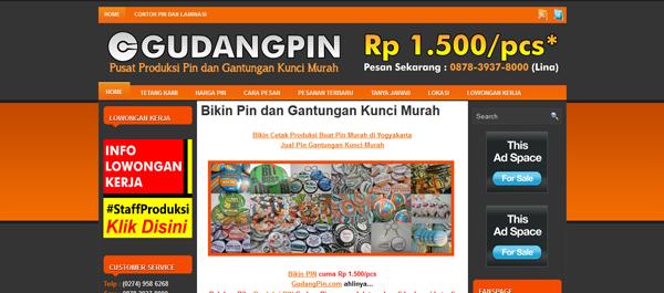 Gudangpin.com Pusat Produksi Pin dan Gantungan Kunci