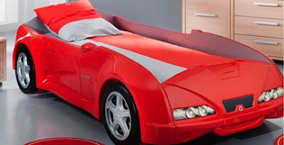 diseño de cama divertido
