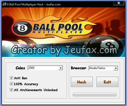8 Ball Pool Multiplayer Hack 2013 - Facebook Game