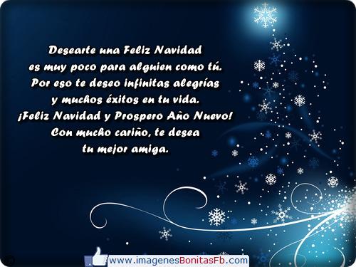 Tarjetas de navidad para un amiga - Imagenes de Amor Facebook