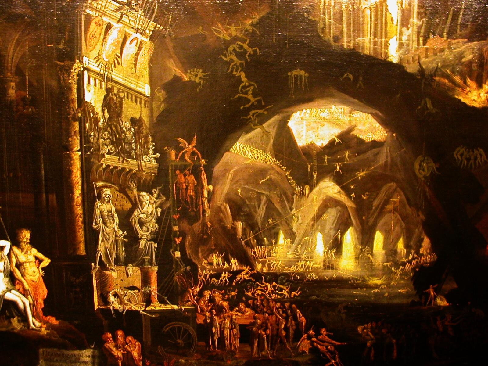 Elisandre l 39 oeuvre au noir ruines et paysages for Architecture fantastique