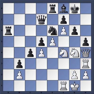 Echecs & Tactique : Les Blancs gagnent en quatre coups - Niveau Facile
