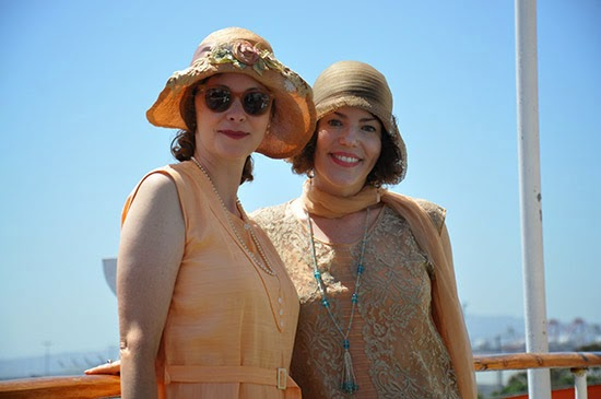 Queen Mary Art Deco Festival 1920s dress by Lady by Choice