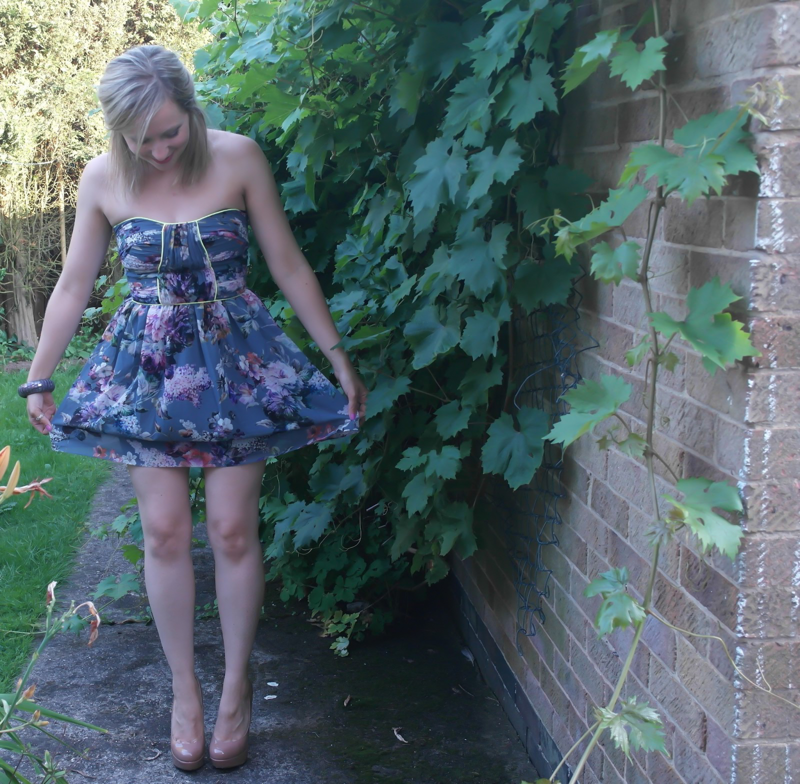 london lashes blog dress