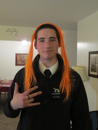Elder Rocker Browning -with orange hair