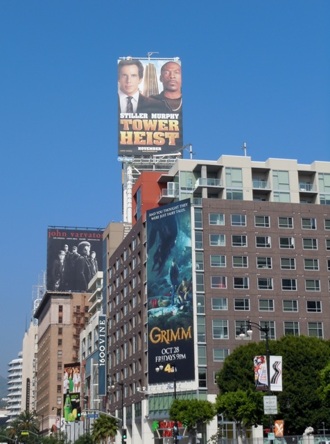 Tower Heist billboard Hollywood