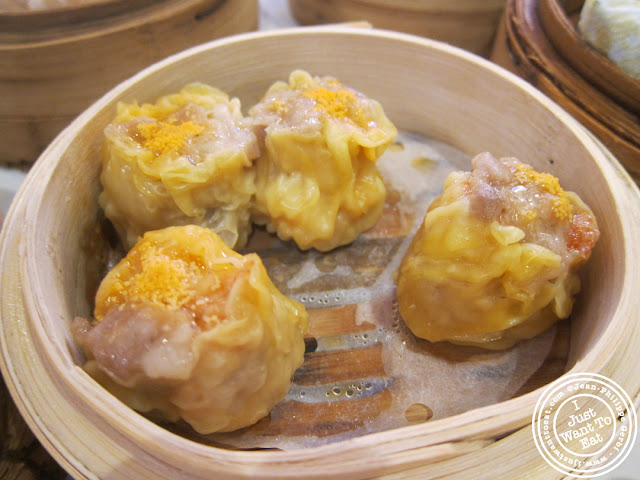 image of Pork shumai at the Golden Unicorn in Chinatown NYC, New York