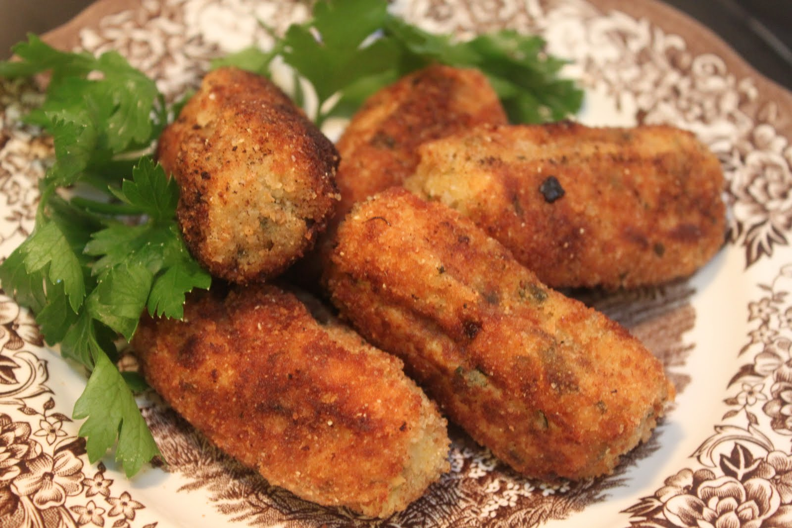 Sweet on You: Potato Croquettes