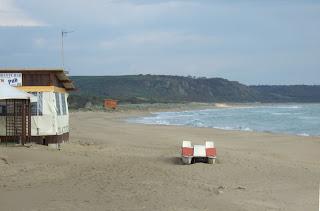 Bild 2: Strand von Eraclea Minoa
