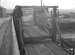 Stephensons Lifting Bridge at Soar Lane, Leicester