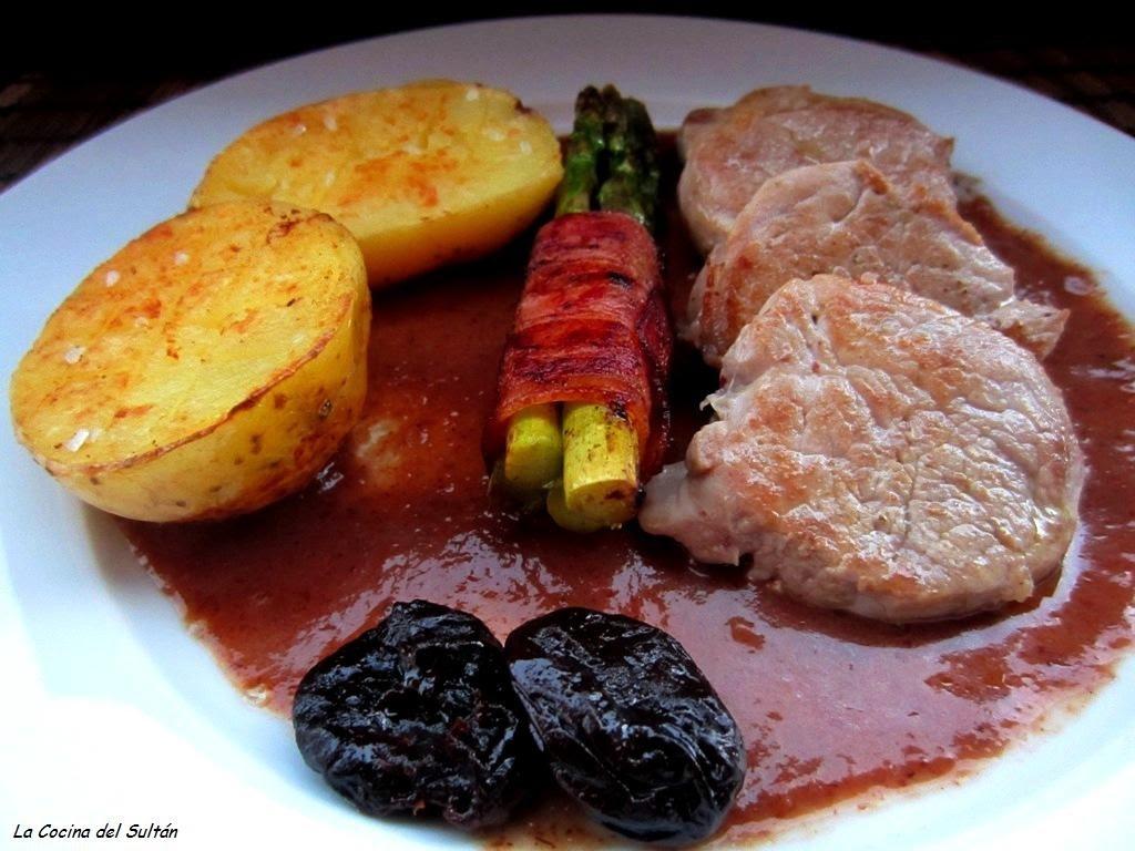La cocina del sult n solomillo de cerdo en salsa de - Salsa de oporto para solomillo ...