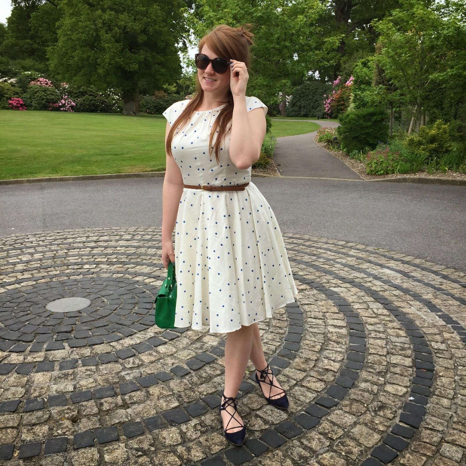 boden spotty dress