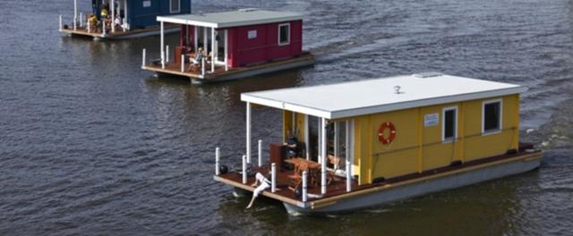 Vintage Houseboats