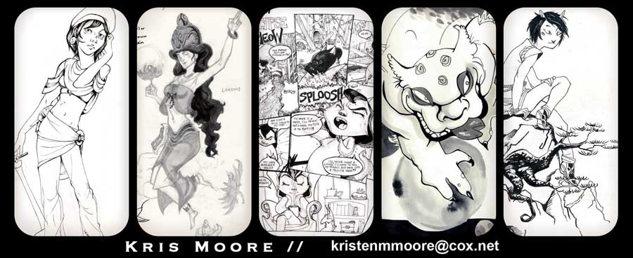 The Art of Kristen Moore