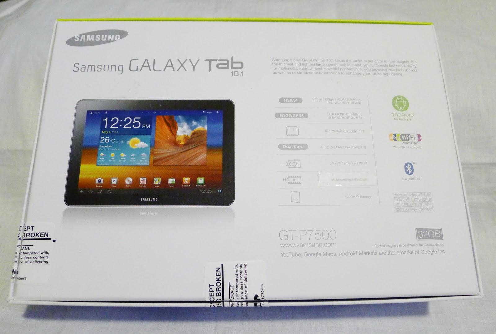 MassOrder Mobile tech Blog: Samsung GALAXY TAB 10.1 White