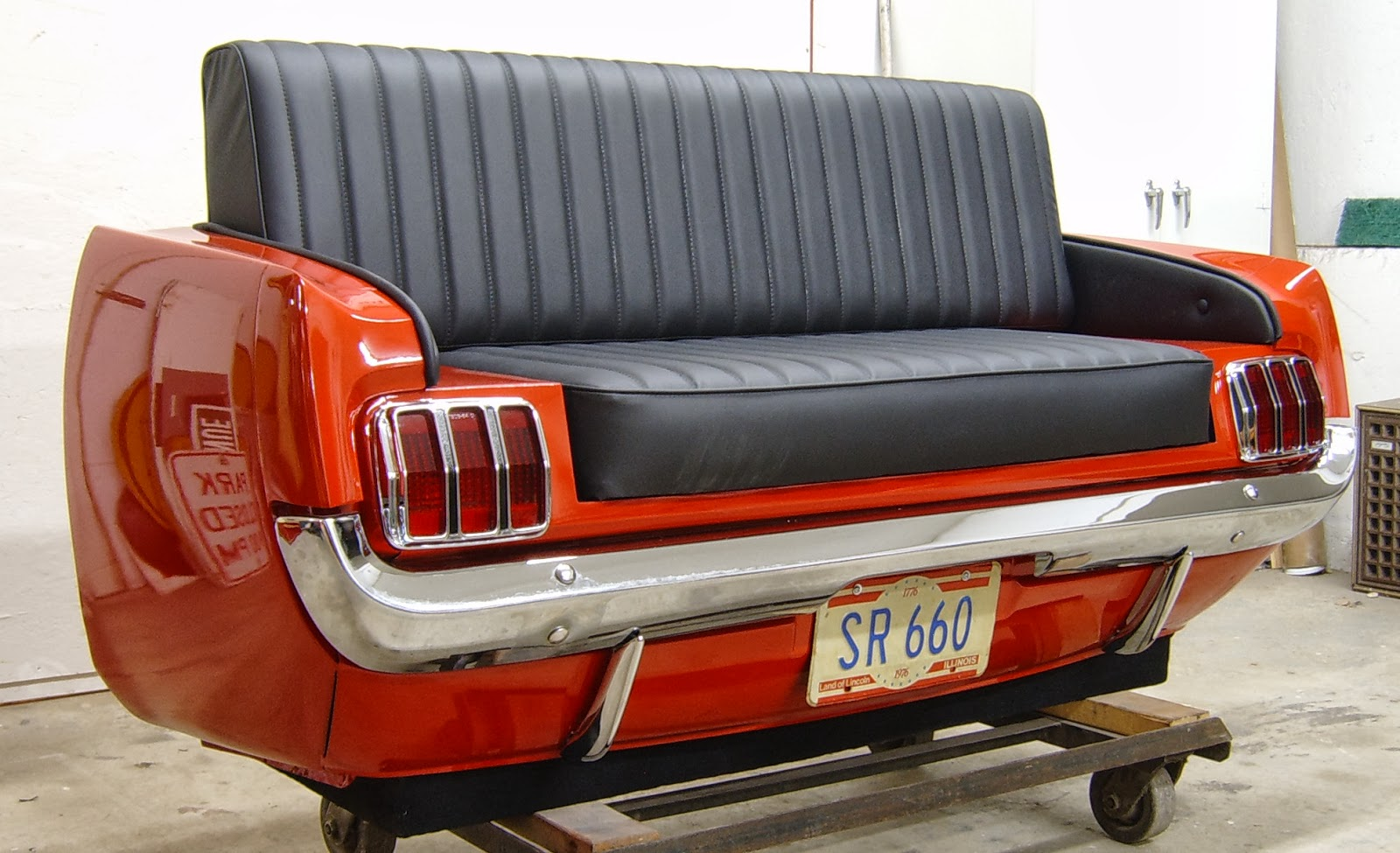 Retro Car Seat Furniture