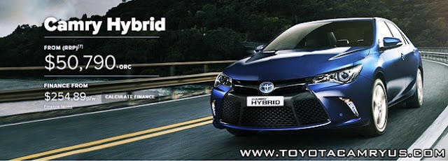 2015 Toyota Camry Atara SL Hybrid Australia