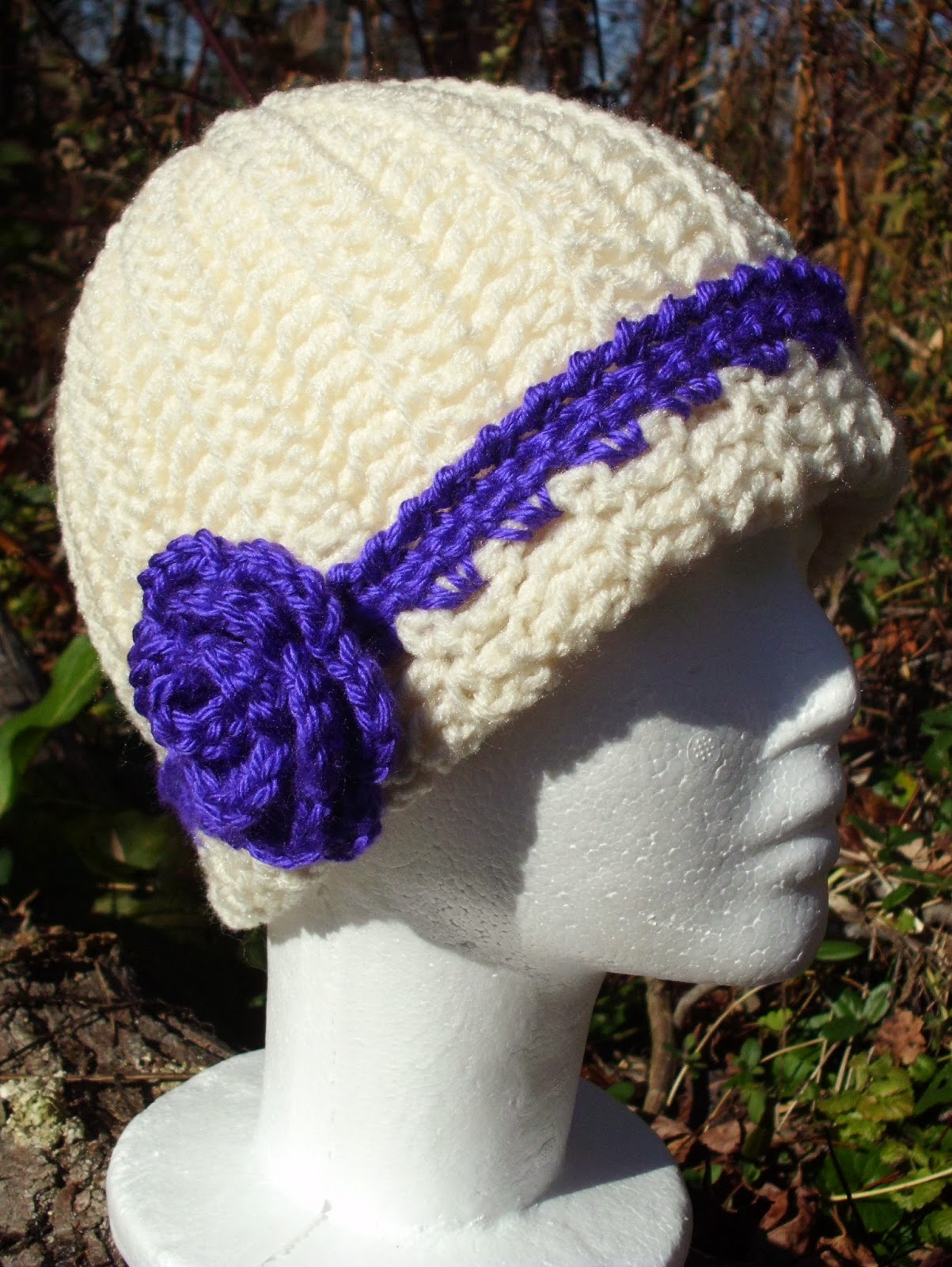 Crochet Tutorial Hat : Rose Cottage Crochet: Crochet Hat Pattern Tutorial