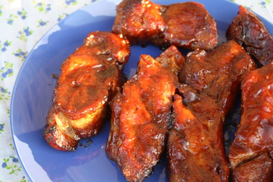 how to cook boneless pork ribs in the oven