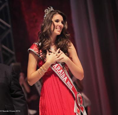 Miss Paraíba 2013, Patrícia dos Anjos fala de seus preparativos para o Miss Brasil