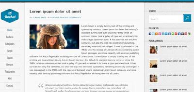 download template blog bagus gratis