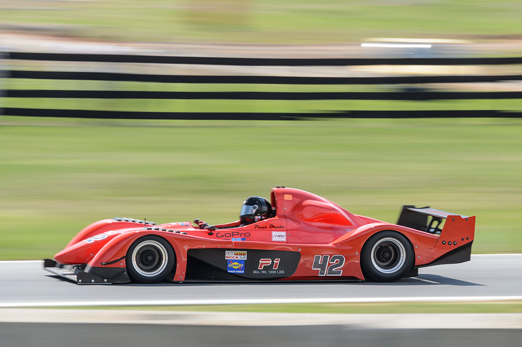 Paul Drula's Stohr Wf1 at Summit Point Motorsports Park