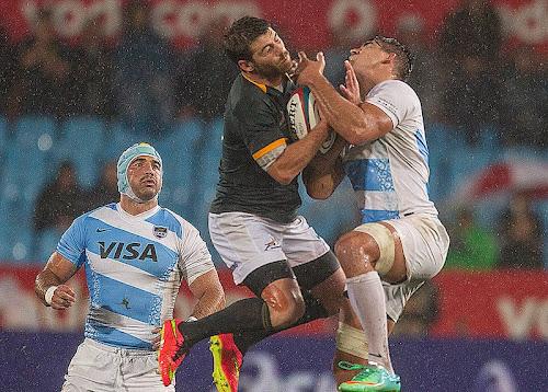 Los Pumas cayeron ante Sudáfrica
