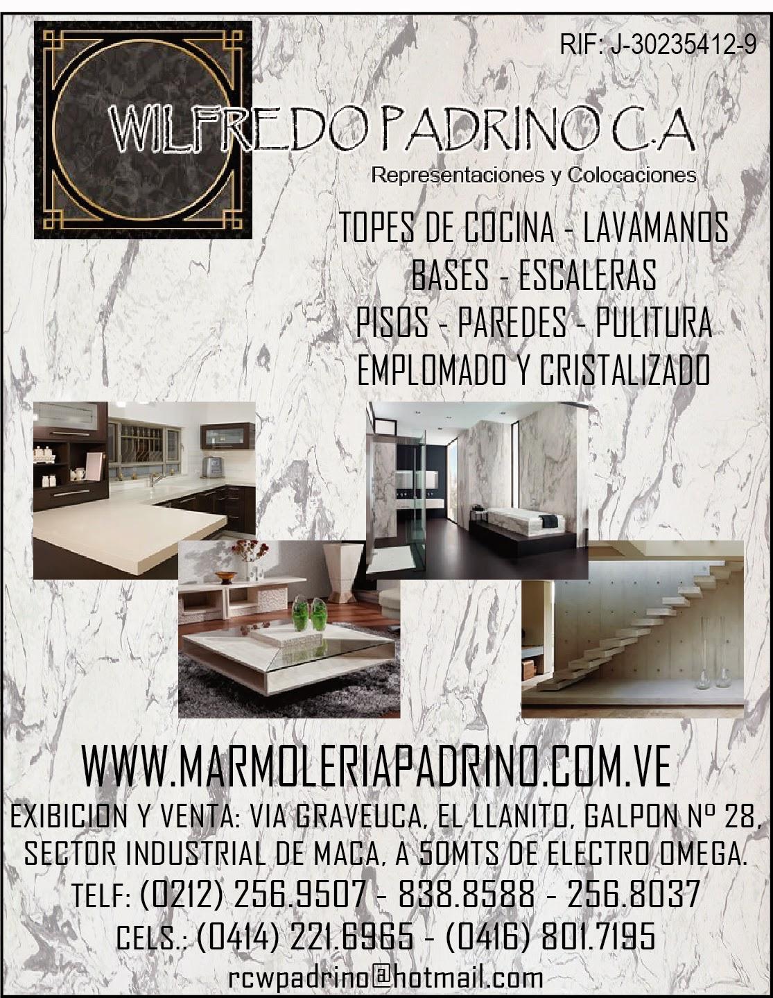 WILFREDO PADRINO C.A. en Paginas Amarillas tu guia Comercial