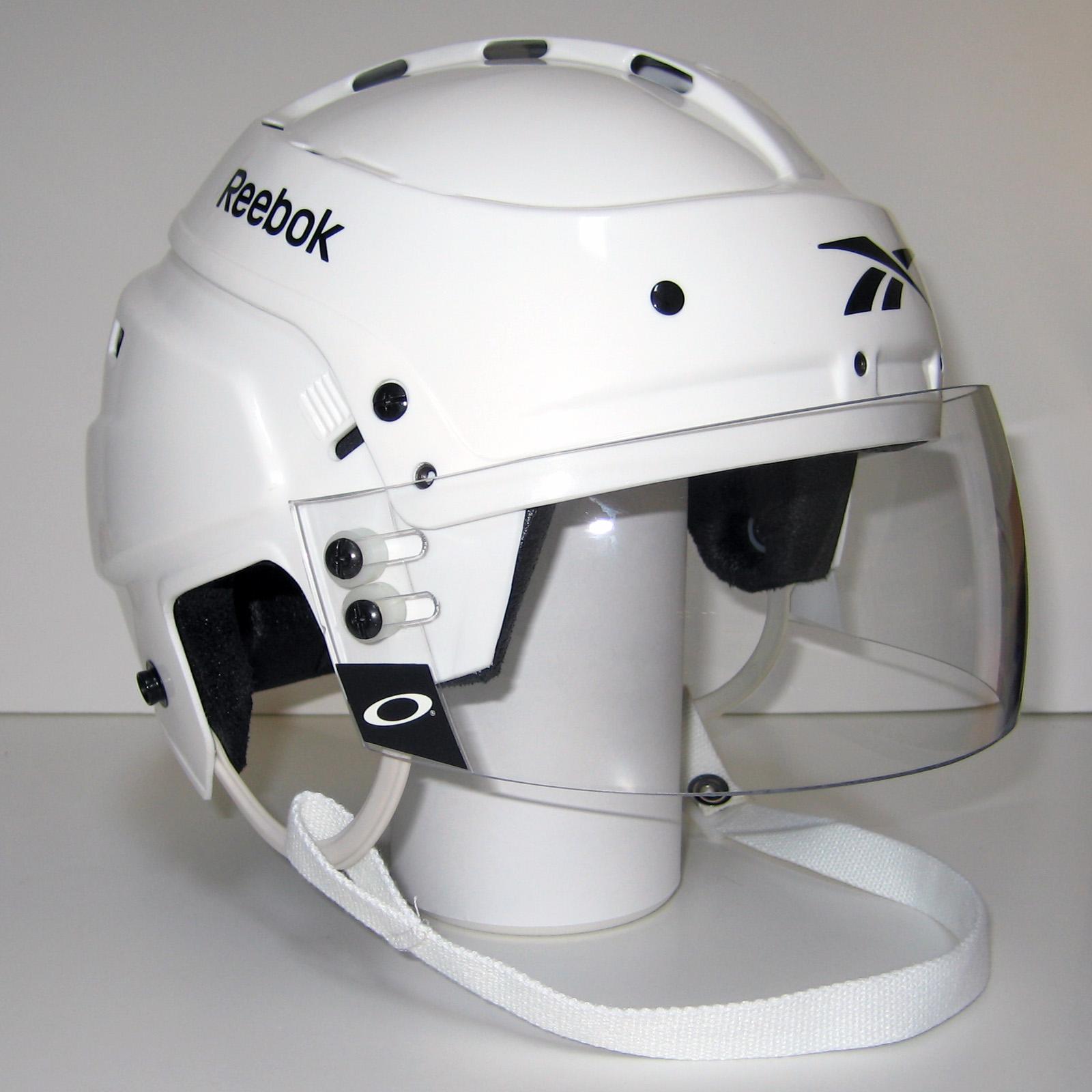 Reebok hockey helmets