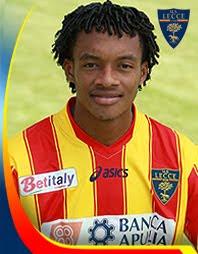 Juan Guillermo Cuadrado anotó para el Lecce en la jornada 11 de la liga italiana