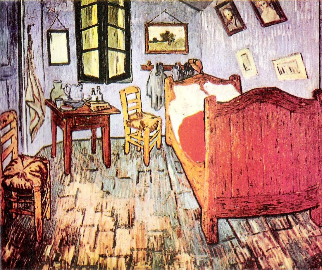 plasticamariarios: Mi cuarto de Aries de Vincent Van Gogh
