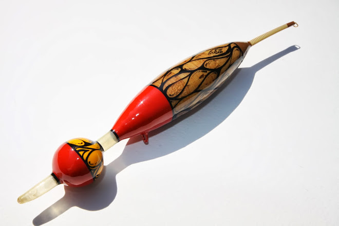 Large Handmade Pike Slider Float with Cork Ball Tip