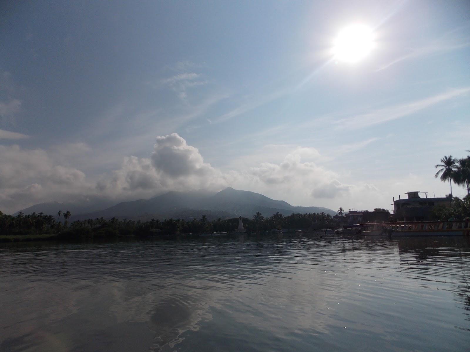 Barra de Coyuca atardecer