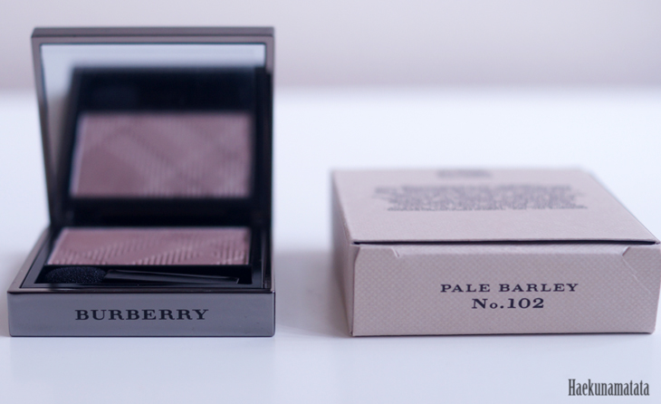 Burberry Eyeshadow in Pale Barley Review & Swatch2
