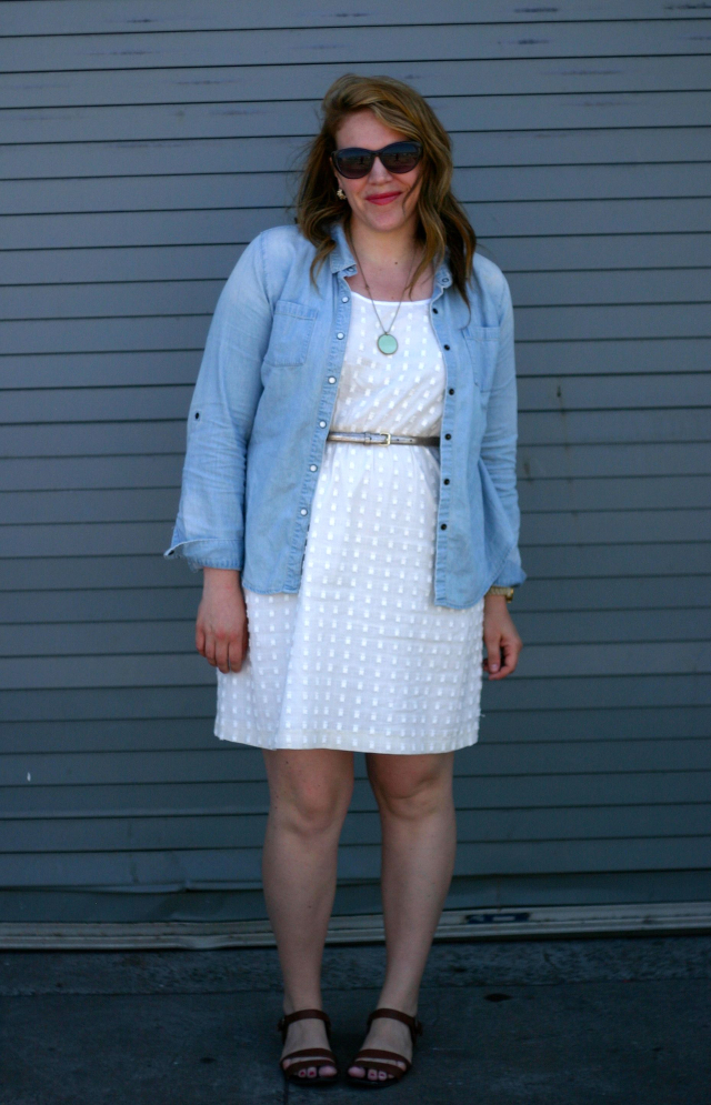 6a8a75dac3d2 Chasing Davies  Casual Summer Outfit with a Little White Dress